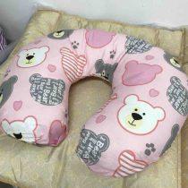 Подушка для кормления с двумя наволочками