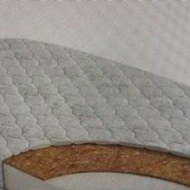 Матрас овальный 125/75 см Холлкон/кокос