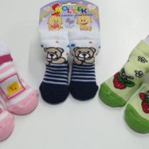 Носочки для новорождённых (махровые)