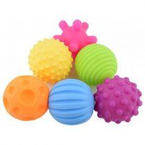 Мячики тактильные, набор из 6 шт.