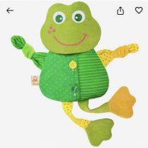 Развивающая игрушка с вишнёвыми косточками «Лягушка. Доктор мякиш»