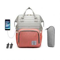 Рюкзак для мам с доп.термокарманом и USB-выходом