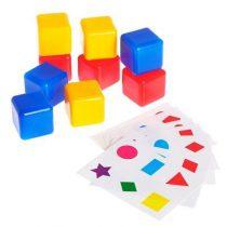"""Кубики обучающие """"Учим цвета и формы"""""""