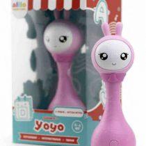 Музыкальная интерактивная обучающая игрушка Умный зайка Алило alilo R1+ Yoyo