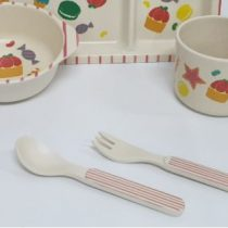 Набор посуды, бамбук 4 предмета